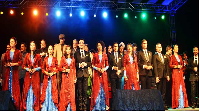 Meghalaya: Shillong Chamber of Choir performs for Security forces on the occasion of R-day