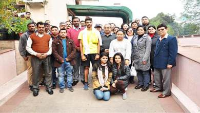 Photo of Sikkim: Abhishek reaches Delhi from Gagtok after completing 1545 km marathon