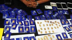 Sikkim: Smuggling of fake gold, 3 arrested