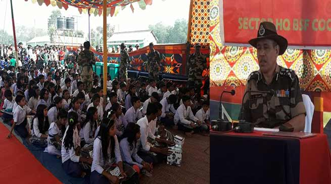 BSF organises Civic Action Program at Coochbehar