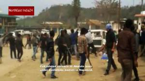 Nagland: Watch Video of Poll Related Violence