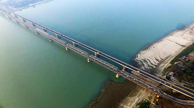 Assam: NF Railway using Drones for inspection of bridges