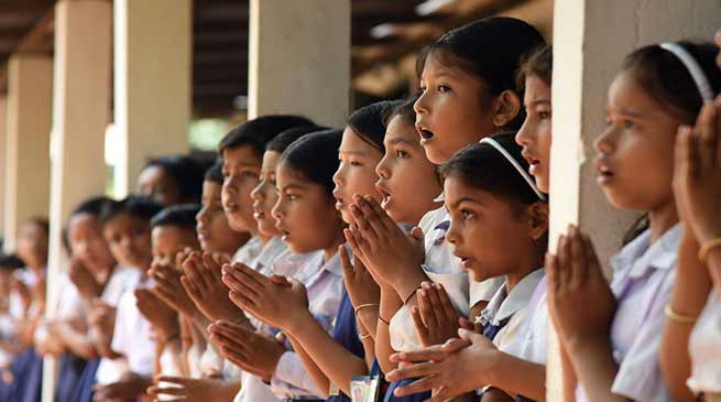 Assam: Dress materials for school uniform rejected in Rangauti Girls' High School