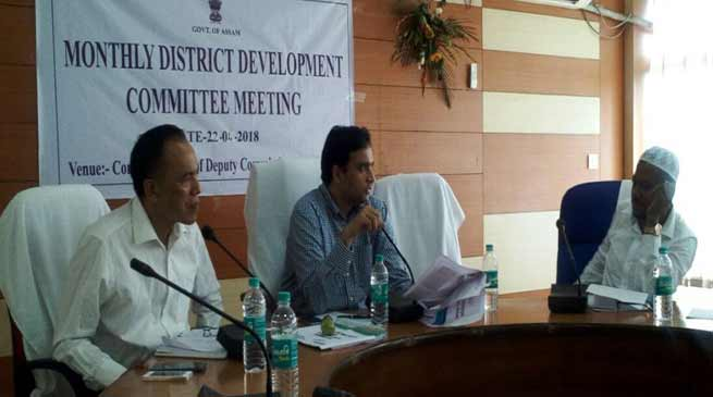 Assam: DC Hailakandi for expeditious implementation of schemes, projects