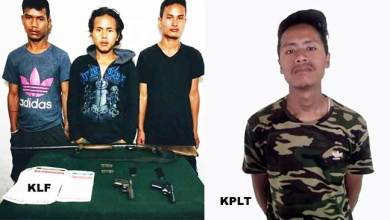 Assam: 3 KLF and 1 KPLT cadre apprehended in Karbianglong