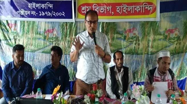 Assam: Karigar Kalyan Diwas observed in Hailakandi