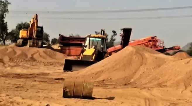 Assam: Sand mining suspended temporarily in Hailakandi