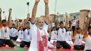 International Yoga day celebrated all over northeast