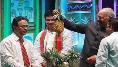 President Kovind declares Queen Pineapple as state fruit of Tripura
