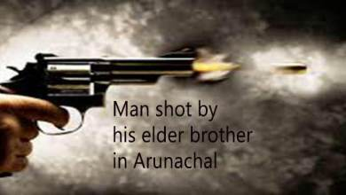 Arunachal Pradesh : Man shot by his elder brother