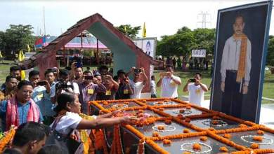 Assam: ABSU celebrates Death Anniversary of Swmbla Basumatary as Anti-Terrorism Day