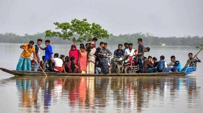 Assam:Floodwaters recede in Hailakandi