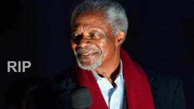 Photo of Kofi Annan, former United Nations Secretary-General dies