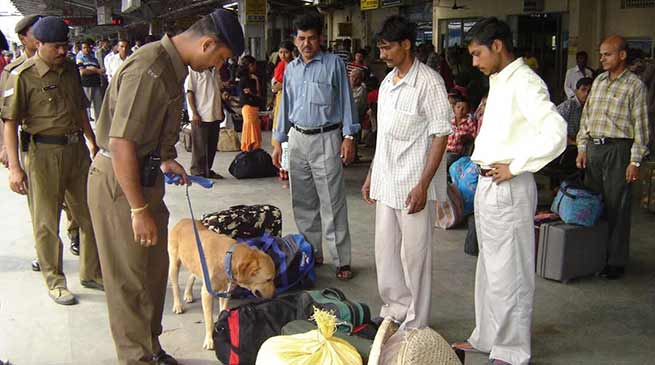 Assam:NF Railway beefed up Security in Guwahati Railway station for I- Day