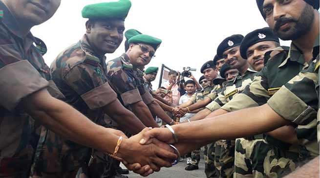 Assam: BSF, BGB celebrates Friendship day at international border
