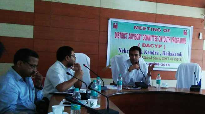 Assam: DACYP approves youth-centric programmes for Hailakandi district