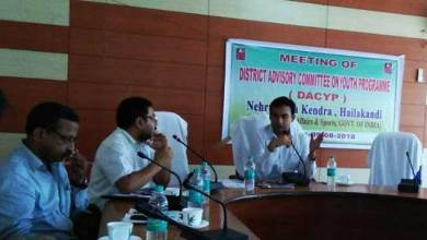 Photo of Assam:DACYP approves youth-centric programmes for Hailakandi district