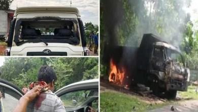 Tripura: Clashes between BJP and IPFT before Panchayat Poll