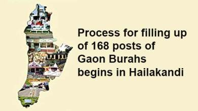Assam: Process for filling up of 168 posts of Gaon Burahs begins in Hailakandi