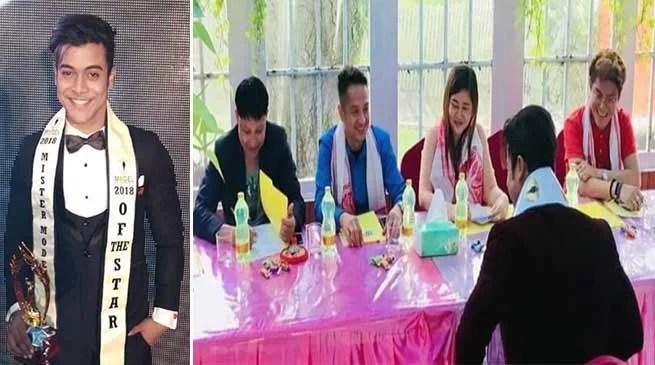 Assam: Dipankar Talukdar crowned Mister Model of the Star in Myanmar