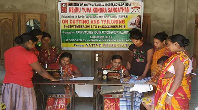 Assam:Training on Education in Basic Vocations and Soft Skills gets underway in Hailakandi