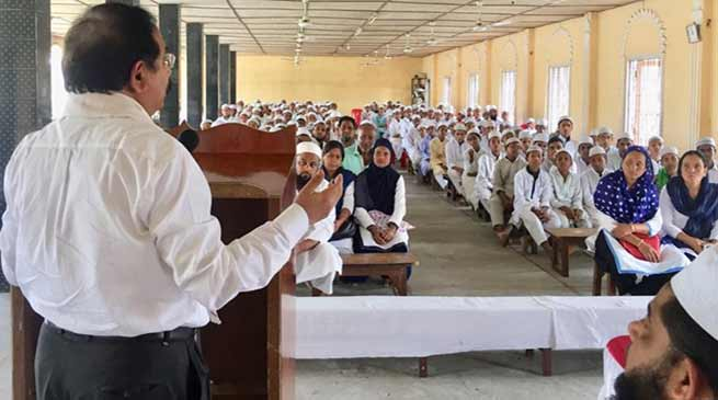Assam: MR Vaccine causing infertility is a rumour- Dr Ilias Ali