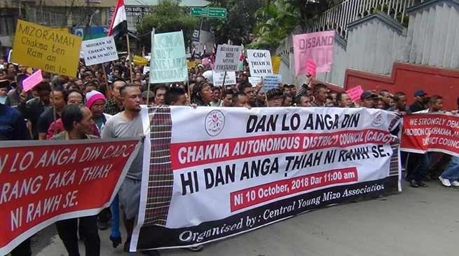 Mizoram: YMA demands scraping of CADC