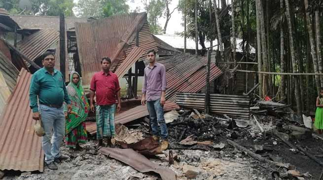 Assam: Shops, House gutted in two fire incident at Hailakandi