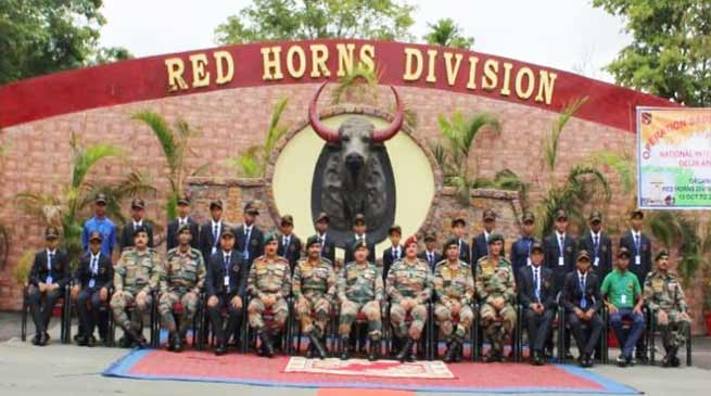 Assam:Army organises National Integration Tour for Students