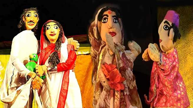 Assam's puppet show performed in Andaman's port blair