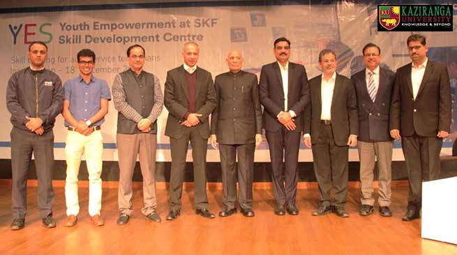 Assam: SKF India's 5th YES Skill Development Centre launched at Kaziranga University