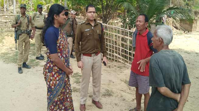 Assam: Identifying vulnerability of remote polling stations begins in Hailakandi district