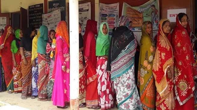 Assam:Women voters far outnumber men in Hailakandi district