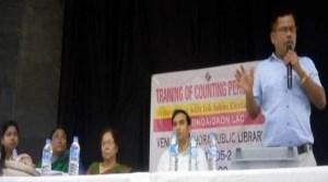 Assam: Dist Admin organised training on EVM/VVPAT counting process