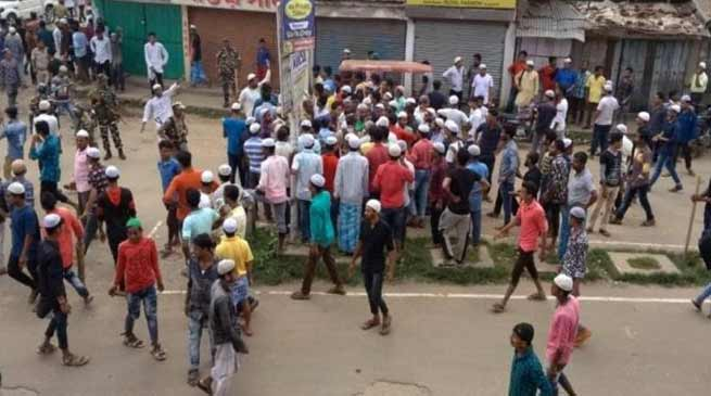 Assam: Curfew imposed after Communal Clashes Erupt in Hailakandi town
