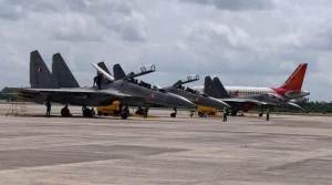 IAF Carried out fighter aircraft operation from civil air fields