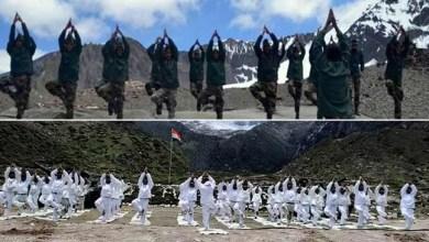 International Yoga Day:Indian and Chinese Army jointly celebrates along international border
