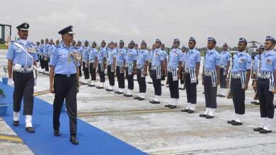 Photo of AOC-in- C Eastern Air Command Visits Air Force Station Borjhar
