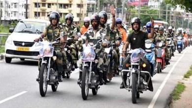 Assam: BSF celebrates Kargil Vijay Diwas with Motorcycle Rally