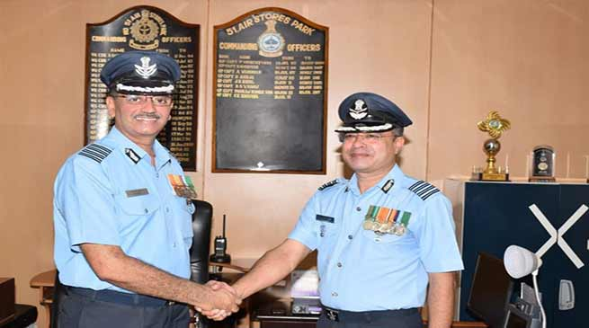 Assam: Change of Command at Digaru Air Force Station