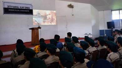 Manipur: Assam Rifle Organised Motivational Lectures and Movie Screening