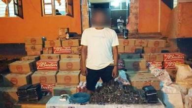 Manipur: Assam Rifle seizes huge quantity of explosives and illicit liquor
