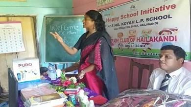 Assam: Happy School initiative of Rotary Club of Hailakandi