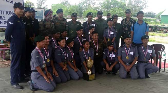 Assam: Combine Annual Training Camp of NCC Air Wing concludes