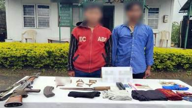 Nagaland: Assam Rifle Apprehends Two NDFB Cadres from Longleng
