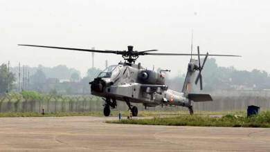 Pathankot: Apache Helicopter inducted in IAF