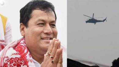 Close shave for Assam CM, chopper makes emergency landing