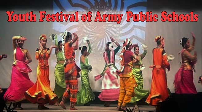Assam: Youth Festival of Army Public Schools held at APS Narangi