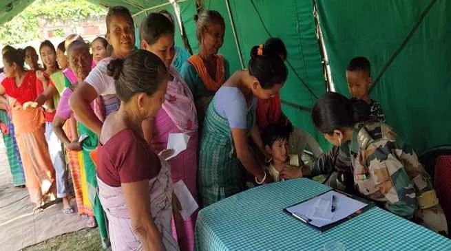Assam: Indian Army Provides Medical Succor In Chirang