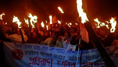 Assam: bandh against CAB passed off with violence at several places
